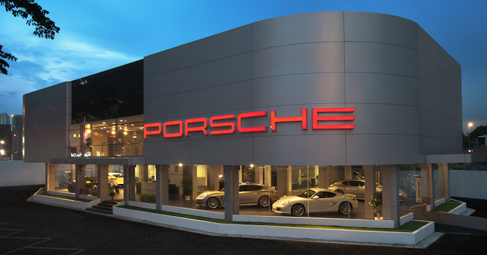 Porsche Centre Bukit Bintang Advertising Campaign